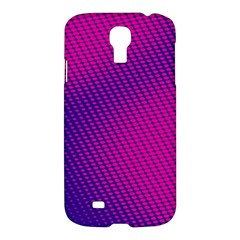 Purple Pink Dots Samsung Galaxy S4 I9500/i9505 Hardshell Case
