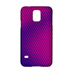 Purple Pink Dots Samsung Galaxy S5 Hardshell Case  by BangZart