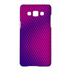 Purple Pink Dots Samsung Galaxy A5 Hardshell Case