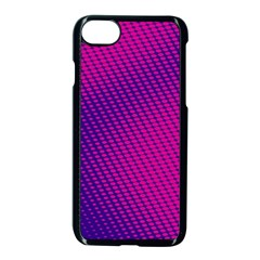 Purple Pink Dots Apple Iphone 7 Seamless Case (black) by BangZart