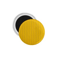 Yellow Dots Pattern 1 75  Magnets by BangZart