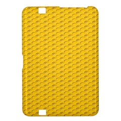 Yellow Dots Pattern Kindle Fire Hd 8 9  by BangZart