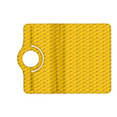 Yellow Dots Pattern Kindle Fire Hd (2013) Flip 360 Case by BangZart