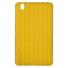 Yellow Dots Pattern Samsung Galaxy Tab Pro 8 4 Hardshell Case by BangZart