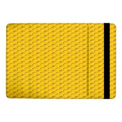 Yellow Dots Pattern Samsung Galaxy Tab Pro 10 1  Flip Case