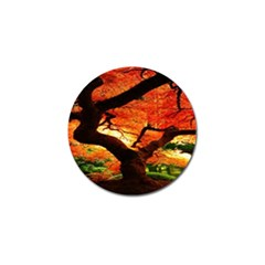 Maple Tree Nice Golf Ball Marker (4 Pack) by BangZart