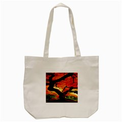 Maple Tree Nice Tote Bag (cream) by BangZart