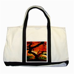 Maple Tree Nice Two Tone Tote Bag by BangZart