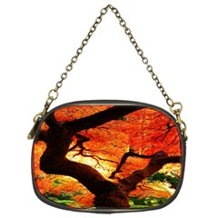 Maple Tree Nice Chain Purses (one Side)