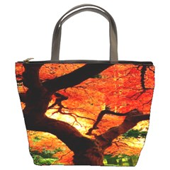 Maple Tree Nice Bucket Bags