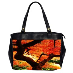 Maple Tree Nice Office Handbags (2 Sides)  by BangZart