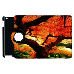 Maple Tree Nice Apple Ipad 3/4 Flip 360 Case by BangZart