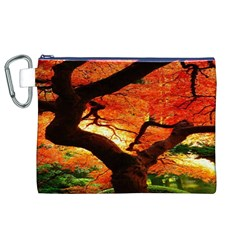 Maple Tree Nice Canvas Cosmetic Bag (xl) by BangZart