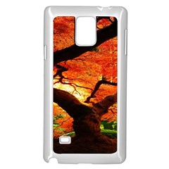 Maple Tree Nice Samsung Galaxy Note 4 Case (white) by BangZart