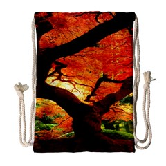 Maple Tree Nice Drawstring Bag (large) by BangZart