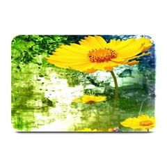 Yellow Flowers Plate Mats