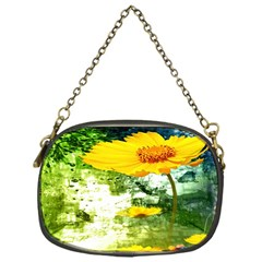 Yellow Flowers Chain Purses (one Side)  by BangZart