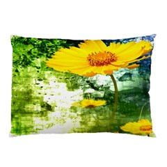 Yellow Flowers Pillow Case