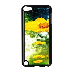 Yellow Flowers Apple Ipod Touch 5 Case (black) by BangZart