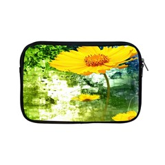 Yellow Flowers Apple Ipad Mini Zipper Cases by BangZart