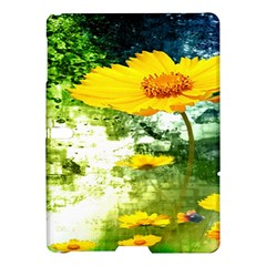 Yellow Flowers Samsung Galaxy Tab S (10 5 ) Hardshell Case  by BangZart