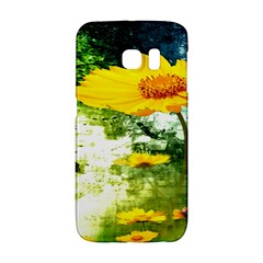 Yellow Flowers Galaxy S6 Edge by BangZart