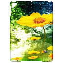 Yellow Flowers Apple Ipad Pro 9 7   Hardshell Case by BangZart
