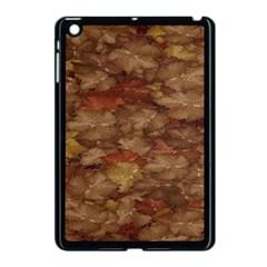Brown Texture Apple Ipad Mini Case (black) by BangZart