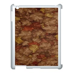 Brown Texture Apple Ipad 3/4 Case (white) by BangZart