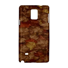 Brown Texture Samsung Galaxy Note 4 Hardshell Case