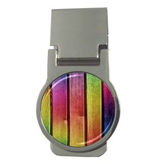 Colourful Wood Painting Money Clips (round)  by BangZart