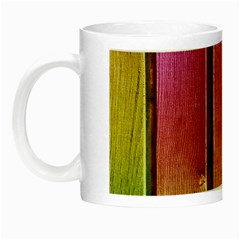 Colourful Wood Painting Night Luminous Mugs by BangZart