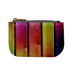 Colourful Wood Painting Mini Coin Purses by BangZart