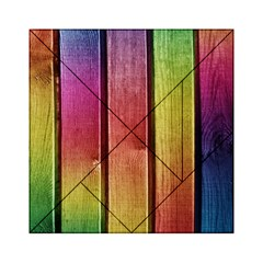 Colourful Wood Painting Acrylic Tangram Puzzle (6  X 6 ) by BangZart