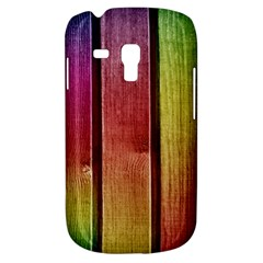Colourful Wood Painting Galaxy S3 Mini by BangZart