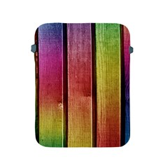 Colourful Wood Painting Apple Ipad 2/3/4 Protective Soft Cases