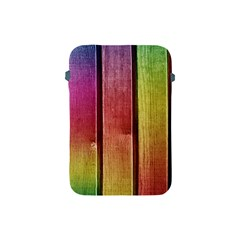 Colourful Wood Painting Apple Ipad Mini Protective Soft Cases by BangZart