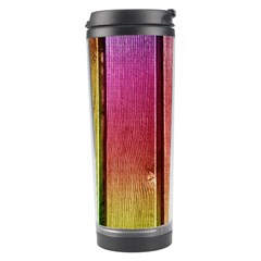 Colourful Wood Painting Travel Tumbler by BangZart
