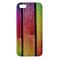 Colourful Wood Painting Iphone 5s/ Se Premium Hardshell Case by BangZart