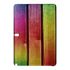 Colourful Wood Painting Samsung Galaxy Tab Pro 12 2 Hardshell Case
