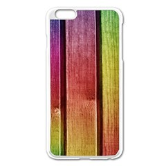 Colourful Wood Painting Apple Iphone 6 Plus/6s Plus Enamel White Case by BangZart