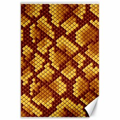 Snake Skin Pattern Vector Canvas 20  X 30   by BangZart