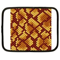 Snake Skin Pattern Vector Netbook Case (large) by BangZart