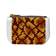 Snake Skin Pattern Vector Mini Coin Purses