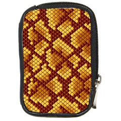 Snake Skin Pattern Vector Compact Camera Cases by BangZart
