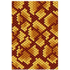Snake Skin Pattern Vector 5 5  X 8 5  Notebooks by BangZart