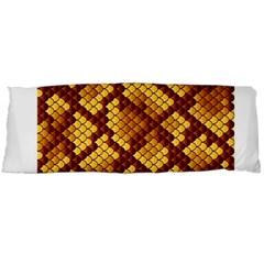 Snake Skin Pattern Vector Body Pillow Case (dakimakura)
