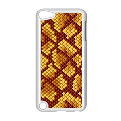 Snake Skin Pattern Vector Apple Ipod Touch 5 Case (white) by BangZart