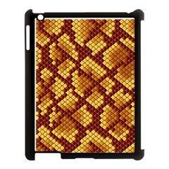 Snake Skin Pattern Vector Apple Ipad 3/4 Case (black) by BangZart