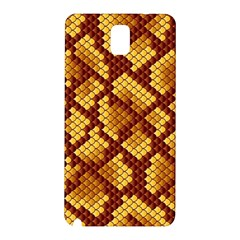 Snake Skin Pattern Vector Samsung Galaxy Note 3 N9005 Hardshell Back Case